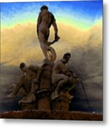 Men Of Greece Metal Print