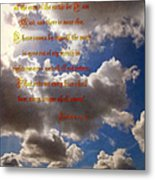 Message From God Metal Print by Glenn McCarthy Art and Photography