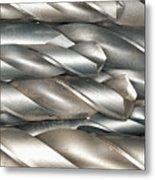 Metal Drill Bits Metal Print