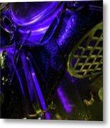 Metallurgy Metal Print by Barbara  White