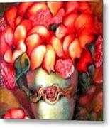 Mexican Flowers Metal Print