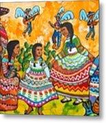 Mexican Women Metal Print