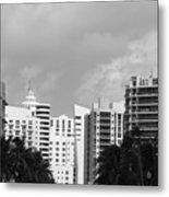 Miami Sky Metal Print