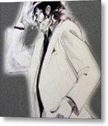 Michael Jackson - Smooth Criminal In Tii Metal Print