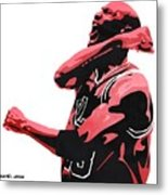 Michael Jordan Metal Print by Michael Ringwalt