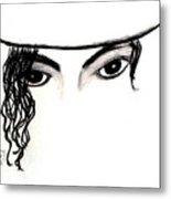 Michael's Eyes Metal Print