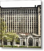 Michigan Central Station Detroit Metal Print