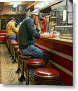 Midnight At Shorty's Metal Print
