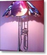 Miles Davis Lamp Metal Print