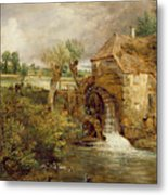 Mill At Gillingham - Dorset Metal Print by John Constable