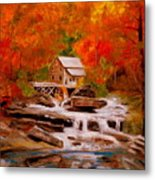 Mill Creek Metal Print