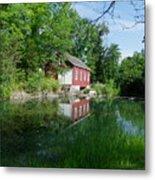 Mill Pond Metal Print