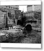 Mill Ruins Metal Print