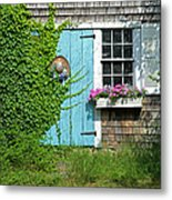 Mill Way Scene Metal Print