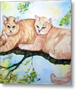 Milo And Timon Metal Print