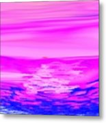 Miracle Sunset-sun And Sky In One Dance Metal Print