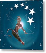 Miss Fifiswinging On A Star Metal Print