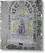 Mission Inn Chapel Metal Print