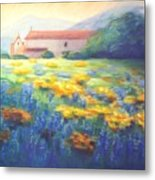 Mission Wildflowers Metal Print