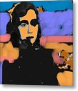 Misty Woman Metal Print