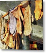Mittens In General Store Metal Print