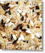 Mixed Rice Metal Print