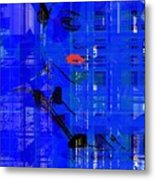 Mixed Up In The Blues Metal Print