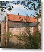 Moated Castle Herten II Metal Print