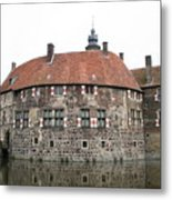 Moated Castle Vischering Metal Print