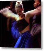 Modern Dance Motion Metal Print