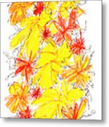 Modern Drawing Fifty-five Metal Print