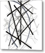 Modern Drawing Forty-six Metal Print