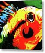 Mohawk Fish Metal Print