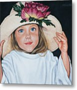 Mommy's Hat Metal Print