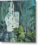 Monastery Ostrog Montenegro Metal Print