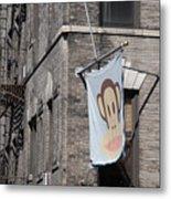 Monkey Flag Metal Print
