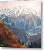 Mont Blanc France Metal Print