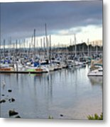 Monterey Harbor - California Metal Print by Brendan Reals