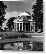 Monticello, Home Of Thomas Jefferson Metal Print