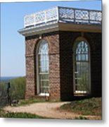 Monticello's Overlook Metal Print