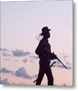 Monument Gettysburg Metal Print