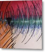 Moodpainting15- Frustation Metal Print