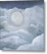 Moonlight Hop Metal Print