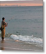 Morning Fish Metal Print