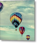 Morning Lift Off  Two Metal Print