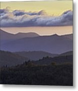 Morning On The Blue Ridge Parkway Metal Print