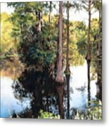 Morning On The River Metal Print