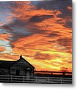 Morning Sunrise 2-14-2011 Metal Print