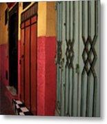 Moroccan Doors Ll Metal Print