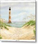 Morris Island Light House Metal Print by Lane Owen